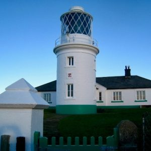 St Bees Lighthouse on the Coast to Coast Walk