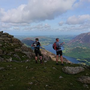 One of the sights you'll see from Ennerdale to Borrowdale