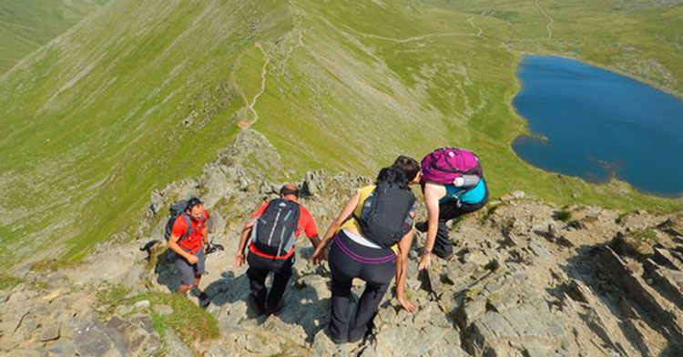 Swirral Edge Route